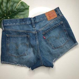 Levi's 501's Denim Shorts Size 29